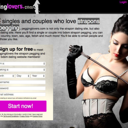 Strapon dating sites