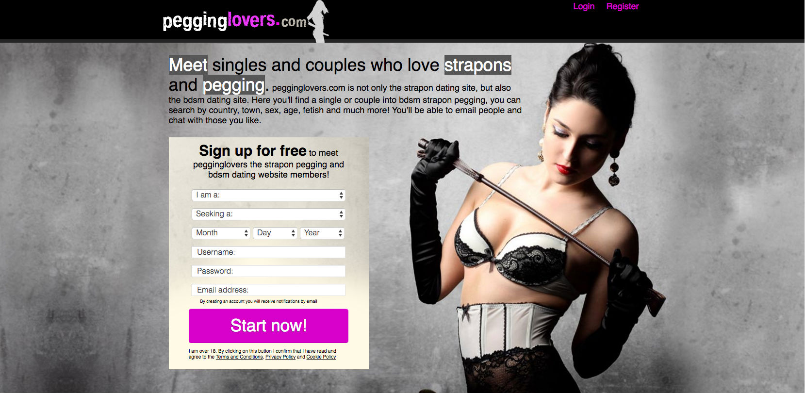 pegging lovers meet on pegginglovers.com