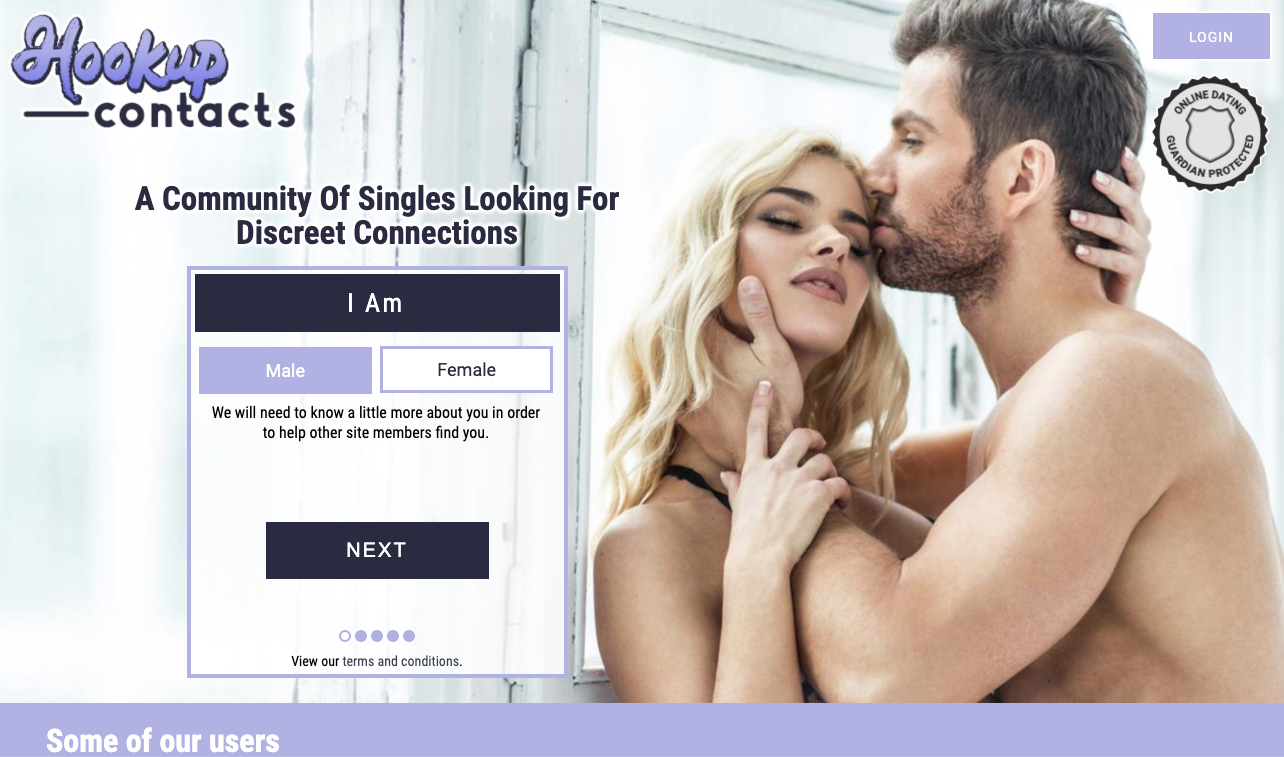 hookup-contacts.com the hookup site