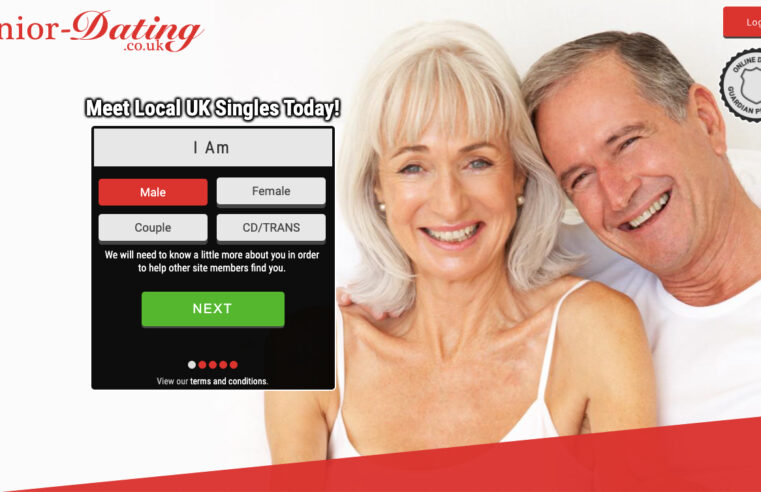 senior dating UK