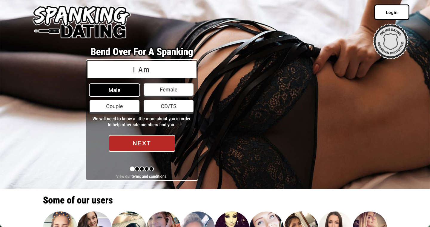 Have a spanking date with spanking-dating.com